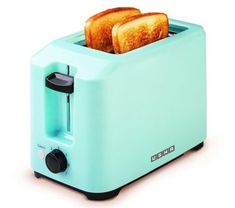 USHA 700 Watt 2-Slice Pop-up Toaster