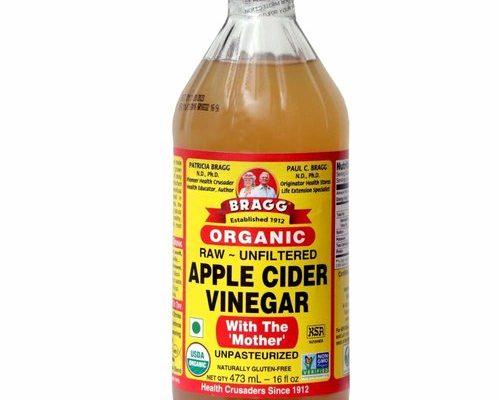 apple cider vinegar to make homemade Hand Sanitizer for Baby