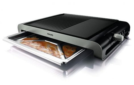 Philips HD4419 Plate Table Grill + Tandoor
