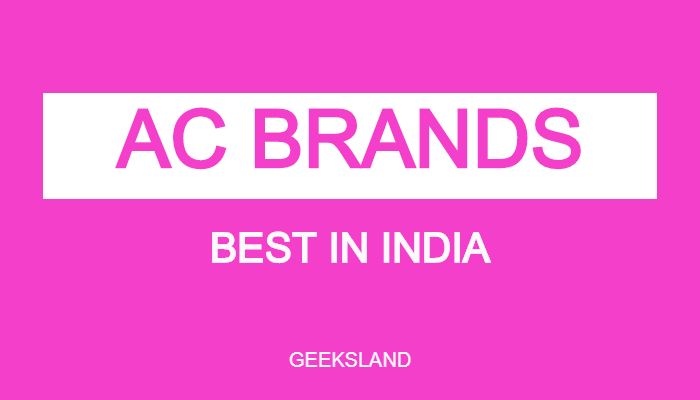 best ac brands in india