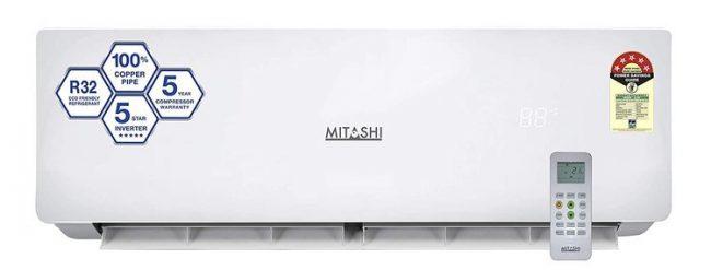 Mitashi 1.0 Ton 5 Star Inverter Split AC