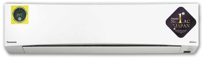 Panasonic CS-NU24WKYW Best 2 ton Split AC
