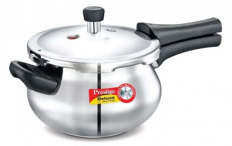 Prestige Deluxe Alpha Outer Lid Stainless Steel 3.3 L best Pressure Cooker