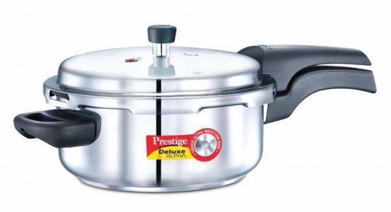Prestige Deluxe Alpha Stainless Steel 3 L Pressure Cooker